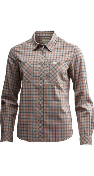 Lundhags W's Jaksa LS Shirt Bronze